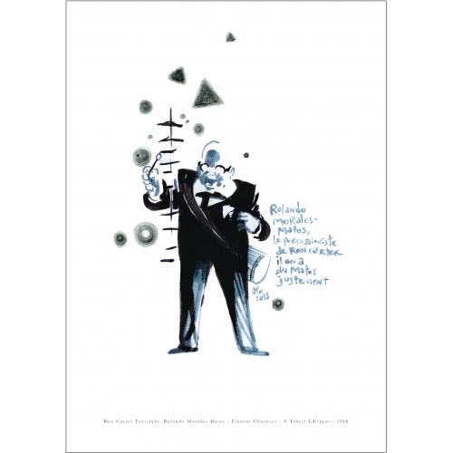 Affiche Rolando Morales-Matos