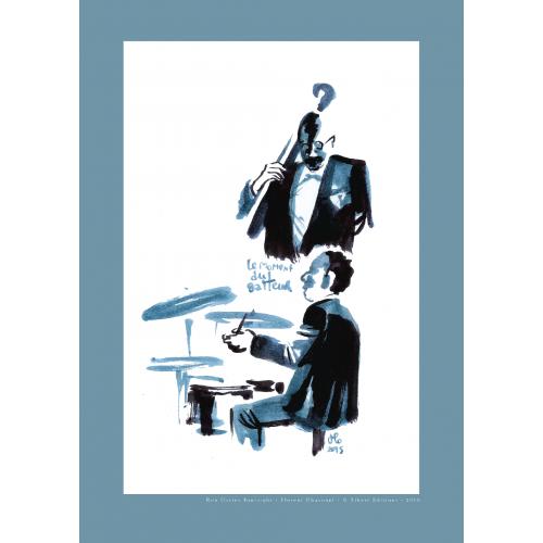Affiche Ron Carter Foursight