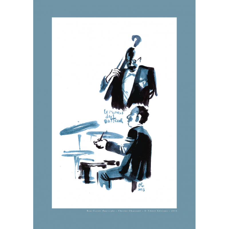 Affiche Ron Carter Foursight