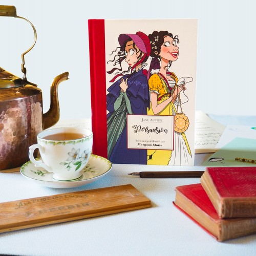 Persuasion de Jane Austen illustré par Margaux Motin