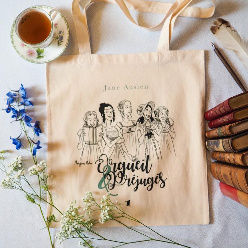 Tote-bag 'Orgueil & Préjugés'