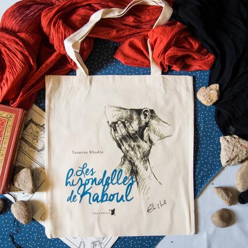 Tote-bag 'Les hirondelles de Kaboul'