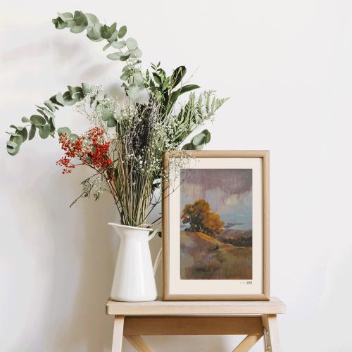 Tirage d'art 'Paysage d'automne'
