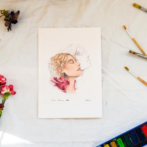 Tirage d'art signé 'Dorian Gray'