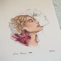 Tirage d'art signé Cœur arboresent