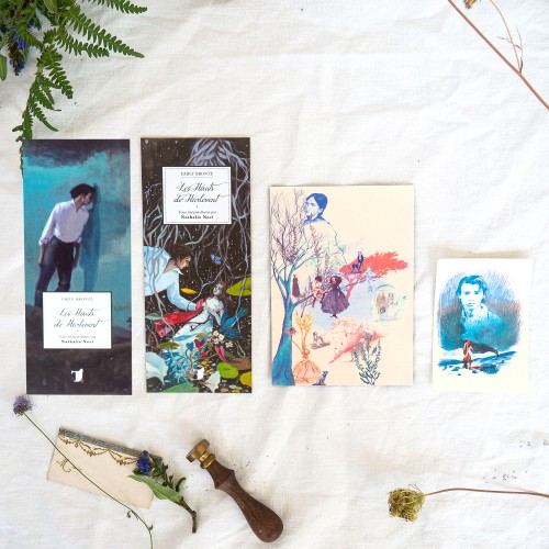Lot d'illustrations 'Dorian Gray'